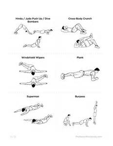At Home Body Weight Workouts for Men