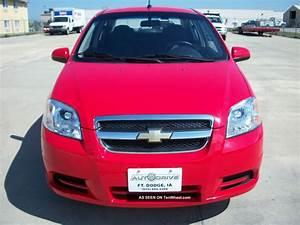 2009 Chevrolet Aveo Lt Sedan 5 Speed Manual Red