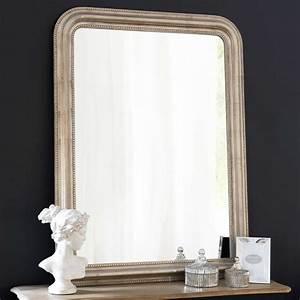 Miroir Fenetre Maison Du Monde : miroir en paulownia champagne 90x120 maisons du monde ~ Teatrodelosmanantiales.com Idées de Décoration