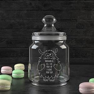 15 Euro Geschenke : personello personalisierbares keksglas 39 love monster ~ Michelbontemps.com Haus und Dekorationen