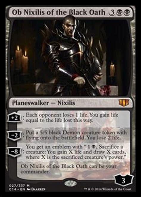 ob nixilis   black oath commander  visual spoiler