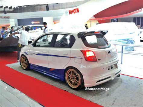 Modifikasi Datsun Go by Datsun Pajang Go Panca Modifikasi Dan Redi Go Di Iims 2014