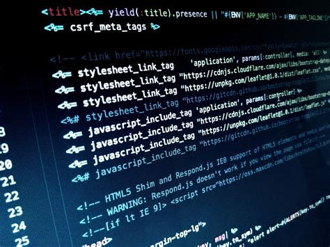 HTML Header JavaScript Code Free Stock Photo - NegativeSpace