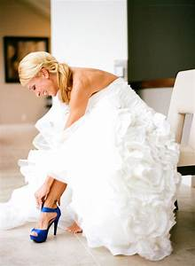 offbeat wedding shoe ideas and how to pull them off With blue shoes for wedding dress