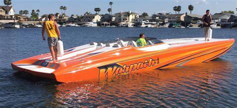 Fast Boat Orange Beach by Nordic Delivers Reved 43 Foot Cat To Veteran Ski Racer