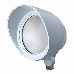 Rab Bullet12w Led Flood Light Fixture 12 Watt 120 Volt 5000k Arm Mount White