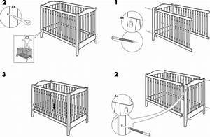 Ikea Tischbeine Höhenverstellbar Anleitung : ikea babybett anleitung ~ Watch28wear.com Haus und Dekorationen