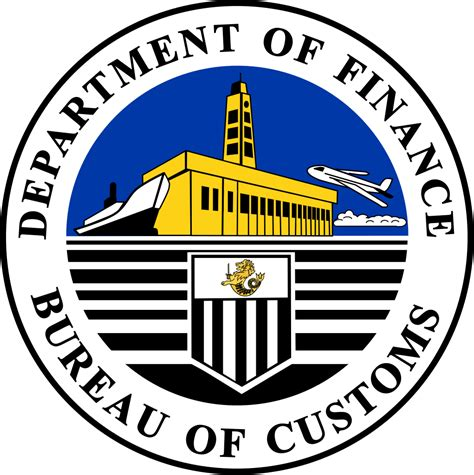 file bureau of customs svg