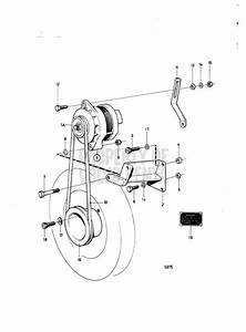 Volvo Penta Exploded View    Schematic Alternator And