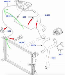 Replacement Ford Fiesta Radiator Has Extra Hose