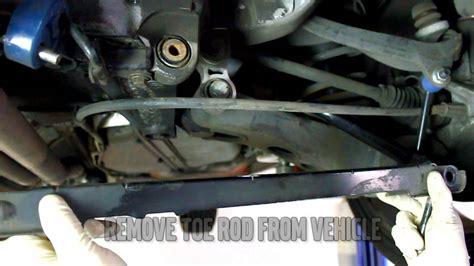 ipd volvo adjustable rear toe rod installation