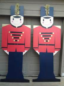 plywood christmas yard decoration patterns toy soldier outdoor christmas yard decor