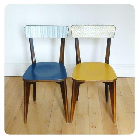 chaises bistrot bois paire de chaises bistrot vintage retro ées 50