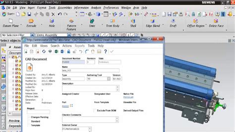 cad integration aras enterprise plm software