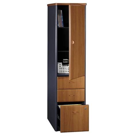 fancy kitchen cabinets bush bbf series a vertical locker in cherry wc57475p 3669