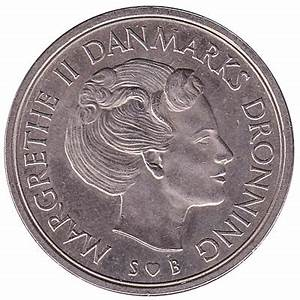 5 Danish Kroner coin Margrethe II - Exchange yours for ...