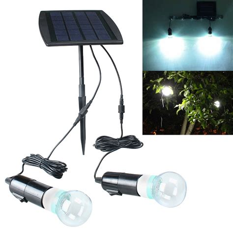 bright 2w outdoor indoor solar powered led lighting