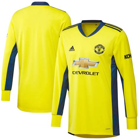 One of the biggest clubs in the world, fans are eagerly looking forward to the latest offering by manchester united sponsors adidas. Manchester United 2020/21 Goalkeeper Away Shirt