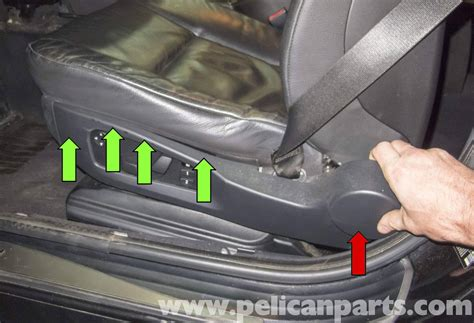 bmw   series seat switch testing  replacement