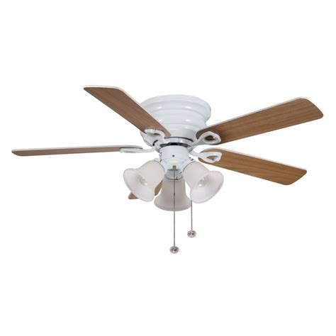 hton bay clarkston ceiling fan hton bay cf544h peh clarkston 44 in white ceiling fan