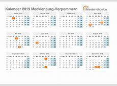 Feiertage 2019 MeckPomm + Kalender