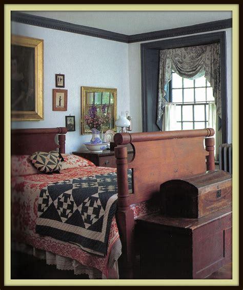 Primitive Bedroom Decor by Decorating Colonial Primitive Bedrooms A Prim Bedroom