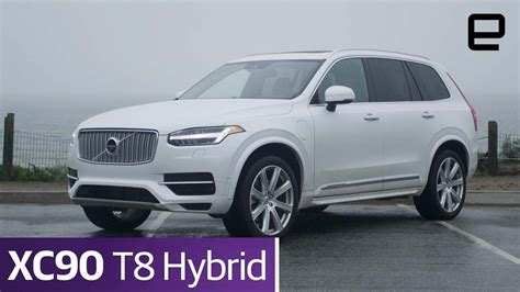Suv Review 2016 Volvo Xc90 T8 Hybrid Driving  Autos Post