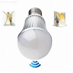 Ampoule Détecteur De Présence : ampoule led avec d tecteur de pr sence et de lumi re 5w ~ Edinachiropracticcenter.com Idées de Décoration
