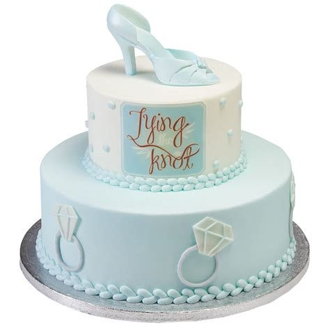 Tying The Knot Bridal Shower Cake Design Decopac