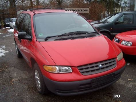 Chrysler 7 Seater by 1996 Chrysler Voyager 7 Seater V6 Air Car Photo And Specs