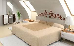 stickers tete de lit florale With tete de lit chambre adulte
