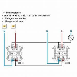 Branchement Interrupteur Temoin Lumineux Legrand : branchement interrupteur temoin lumineux legrand ~ Dailycaller-alerts.com Idées de Décoration