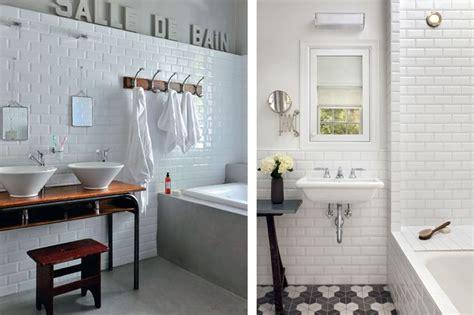 bathroom tile ideas a lakás kis fekete ruhája a metró csempe maison