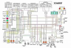 Xs400f Wiring Diagram
