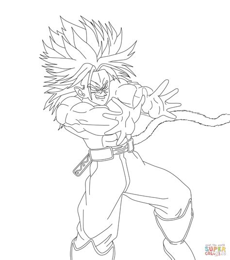Goku Kleurplaat by Saiyan Axess Coloring Page Free Printable Coloring Pages