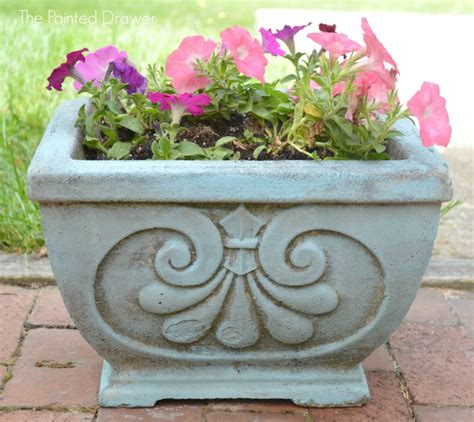 cement planters for transforming concrete planters and a feature
