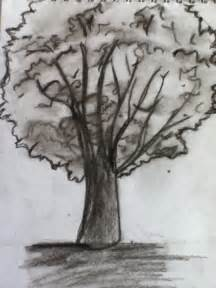 Tree Landscape Drawing