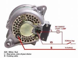 3 Wire Alternator Plug Wiring Diagram