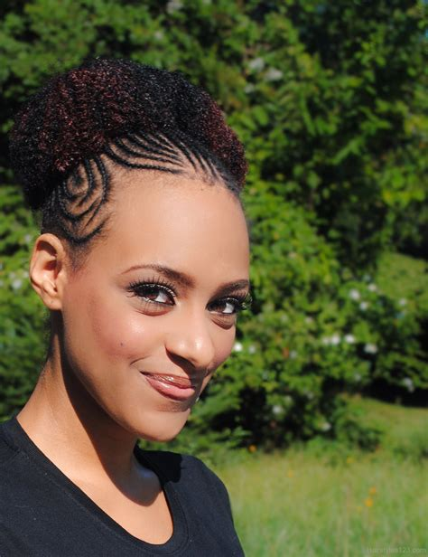 Doing an intricate braid at that point sounds absolutely ridiculous. Black Updo Hairstyles