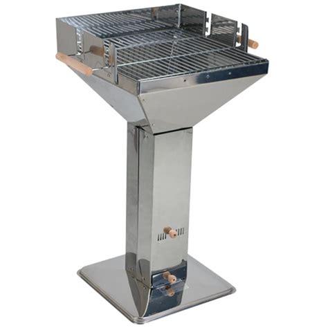 edelstahl grill holzkohle edelstahl s 228 ulengrill holzkohle grill trichtergrill ebay