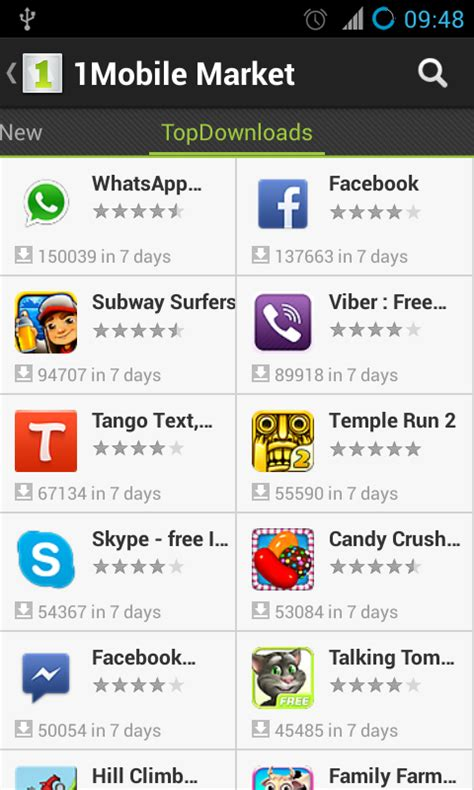 1 mobile apps 1mobile market free android app review