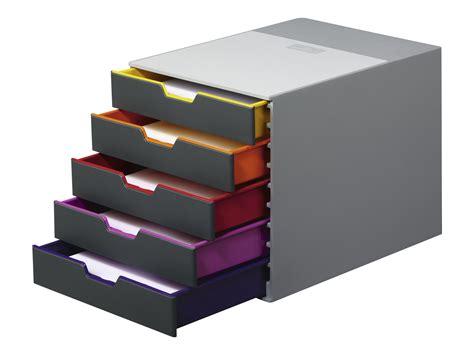 bloc de classement bureau durable varicolor 5 bloc de classement 224 tiroirs