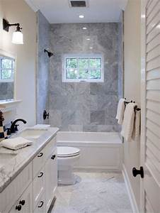 How to Draw the Long Narrow Bathroom Layout - Home