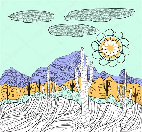 Imágenes: paisaje mexicano para dibujar paisajes con