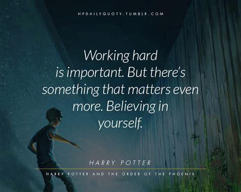 daily quotes  harry potters world