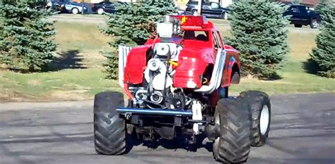 ridiculously cool hp mini monster truck  chuck