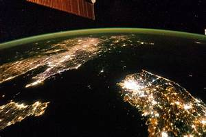 Photos From Space: At Night, North Korea Goes Black