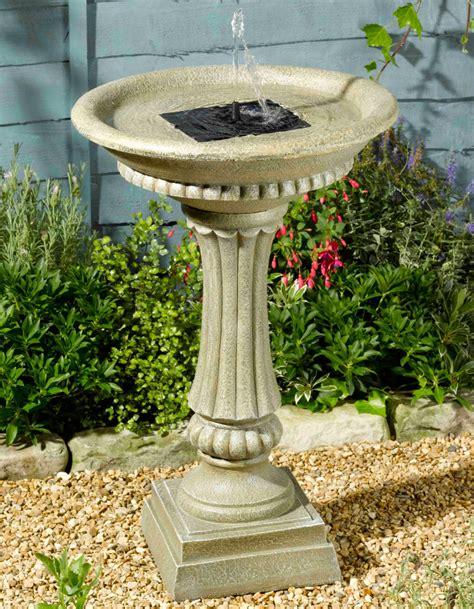 fontaine exterieur solaire fontaine solaire bain d oiseaux winch avec batterie fontaines solaires objetsolaire