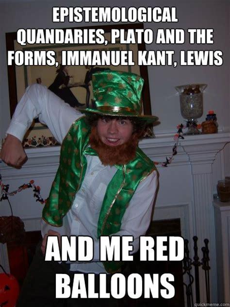 Leprechaun Meme - meme maker philosophers meme maker memes