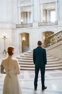 Greta and caleb39s san francisco city hall elopement for City hall wedding ideas
